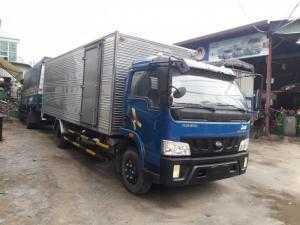 Xe tải giá rẻ vt490 thùng kín dài 6,2 mét đời 2015