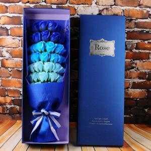Hộp hoa hồng sáp thơm 33 bông tặng kèm túi xách sang trọng