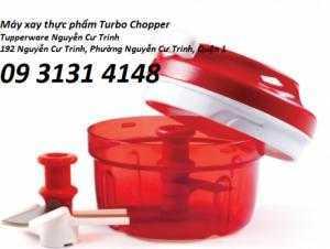 Máy xay thực phẩm Turbo Chopper - máy xay mini Tupperware