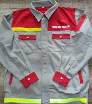 Đồng phục công nhân có may phản quang