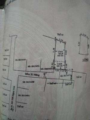 Bán nhà Hẻm 501 Xô Viết Nghệ Tĩnh, (4 x 7m), 1 trệt, 1 lững