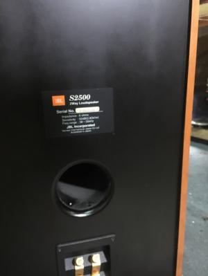Chuyên bán Loa JBL S-2500 hàng bải tuyển chọn từ USA về