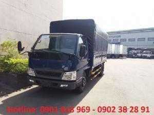 Xe tải Đô Thành IZ49 2,3 tấn thùng mui bạt,...