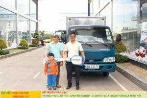 Giá xe tải Thaco KIA 165 , Kia 2,4 tấn, giá xe tải kia 2 tấn 4 rẻ nhất