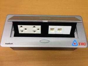Ổ cắm điện âm bàn, ổ cắm điện âm sàn, ổ cắm âm sàn cao cấp chính hãng, dùng cho dự án