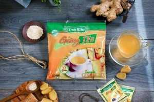 Giới thiệu Trà Gừng Hòa Tan (Bịch 2 gói) - L'ANGFARM - Đặc sản Đà Lạt - TD - DS048