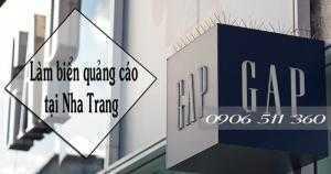 Chuyên làm biển hiệu quảng cáo, cắt chữ quảng cáo tại Khánh Hòa