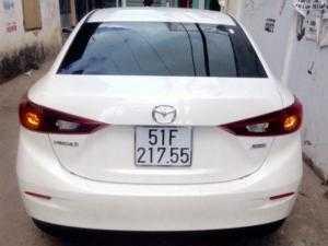 Xe ô tô Mazda 3 đời 2015 cho thuê giá rẻ