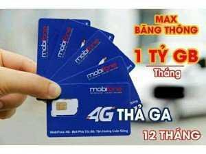 Sim mobiphone max bang thông
