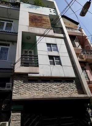 Bán nhà Phan Văn Trị, phường 12, quận Bình Thạnh, 76m2, hẻm 5m, có gara oto