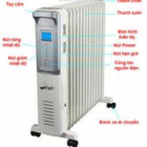 Tại sao nên dùng máy sưởi dầu FujiE cho đại gia đình
