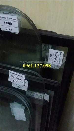 Kính hạt ngô máy xúc Hitachi , kính máy xúc Hitachi