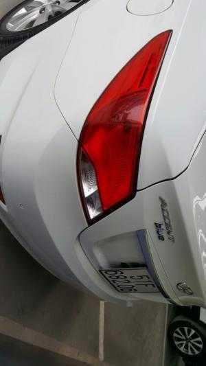 Bán Hyundai Accent Blue 1.4MT số sàn màu trắng nhập Hàn Quốc 2016 biển Sài Gòn