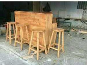 Ghế gỗ Quán ăn