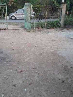 Đất 2 mặt tiền 17m x 50m đường bà thiên thuộc xã Nhuận Đức, Củ Chi