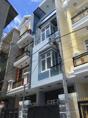 Bán nhà ngay Phạm Văn Đồng đường số 27 nhà 3 tấm mới xây KDC hiện hữu, HXH 54m2/4tỷ