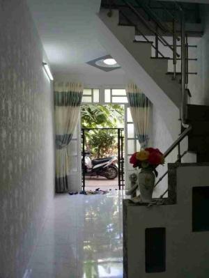 Nhà trệt lầu giá 820 triệu đường Nguyễn Bình, Nhà Bè