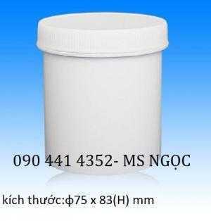 Lọ nhựa 100 ml đựng hóa chất, hủ nhựa 500 ml , hủ 750 ml, hủ 1 lít , hủ 2 lít cao nắp garenty