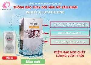 Viên Uống Trắng Da WHITE GLUTATHIONE 500mg của Nhật