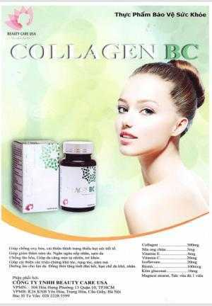 Viên Uống Đẹp Da Collagen BC của Mỹ