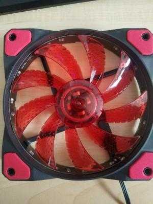 Fan led, fan led rgb 12cm