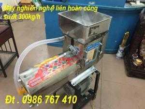 Máy xay vắt tinh bột nghệ liên hoàn ( 200-400kg/h)