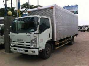 Xe tải thùng kín Isuzu nâng tải 8 tấn Vĩnh Phát FN129