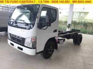 Xe tải Mitsubishi Fuso Canter4.7 tải trọng 1t9 1tan9, hỗ trợ vay mua xe 80%