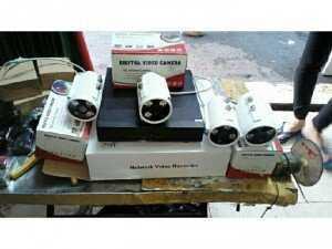 Trọn bộ 4 camera quan sát