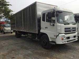 Xe Dongfeng thùng kín 8 tấn thùng dai 8,1 mét