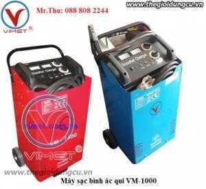 Máy sạc bình ác qui VM-1000 có chức năng sạc nhanh chậm ở 6 chế độ khác nhau. Hỗ trợ giá tốt.