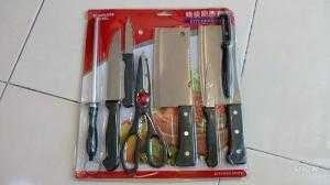 Bộ dao nhà bếp 9 món giá rẻ .