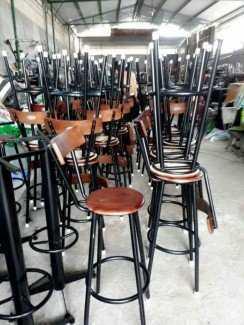 Mẫu ghế tựa lưng cho kinh doanh cà phê, Club, bar
