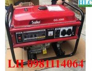 Máy phát điện saiko GG 3000 chính hãng