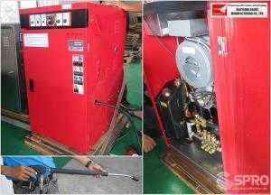 Máy phun rửa nước nóng cao áp Okatsune đến từ Nhật Bản