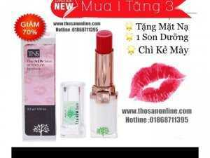 [Chính Hãng ] Son TNS The New Skin Ampoule Lipstick _Son Thiên Nhiên