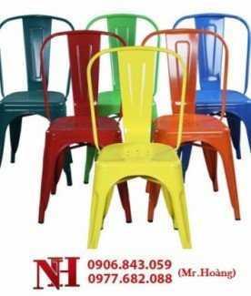 Lô ghế Tolix nhiều màu, mới lạ