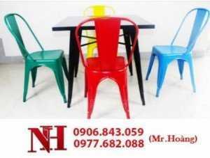 Ghế Tolix dùng trong phòng ăn, phòng làm việc. Liên hệ: 0906843059 Lê Hoàng