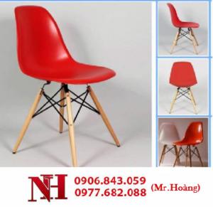 Ghế cà phê chân gỗ, nhiều màu sắc. Miễn phí vận chuyển