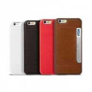 Ốp Da Kiêm Ví Name Card OZAKI Pocket IPhone 6s/6splus - MSN388318