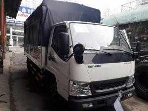 Xe tải Huyndai đô thành iz49 thùng dài 4,3 mét vào thành phố