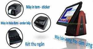 Phần mềm quản lý bán hàng MIỄN PHÍ cho khách mua bộ máy bán hàng cảm ứng.