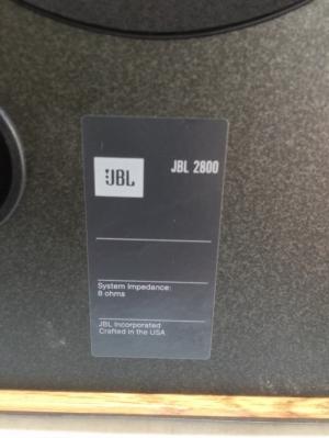 Bán chuyên Loa Jbl 2800 mới đẹp