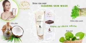 Sữa rửa mặt CLEARING SKIN WASH cho bạn làn da sạch mịn