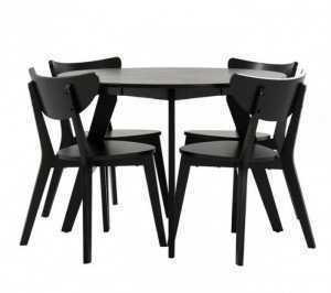 Bàn ghế cafe cho quán trà sữa, gỗ xuất khẩu