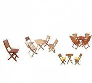 Bàn ghế xếp cafe giá rẻ loại mini