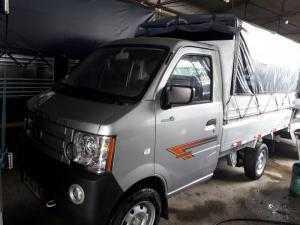 Xe tải Dongben 810kg thùng dài 2 mét 5 vào ngõ hẻm trong thành phố