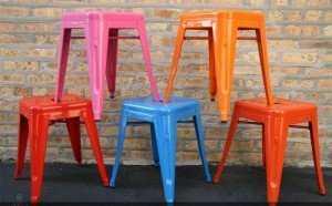 Ghế sắt sơn tĩnh điện (ghế Tolix)