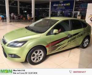 Bán xe Focus 5D 1.8 AT 2010