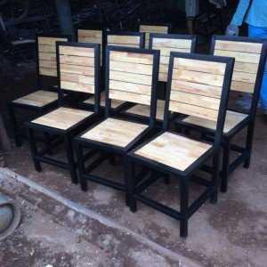 Ghế gỗ cafe, quán ăn giá rẻ